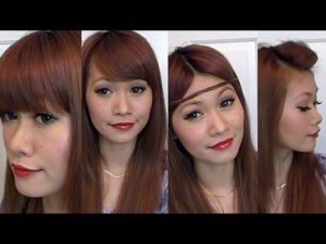 Blunt Bangs: Highly Creative Types Of Bangs For Thin Hair