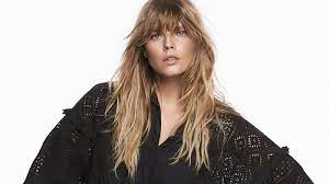 Long Bangs: Carve Your Features With These Different Types Of Bangs For Long Hair