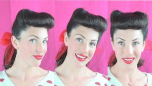 Victory Roll Bangs: One Of The Best Types Of Bangs Style