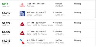 Flight Cost To Greece