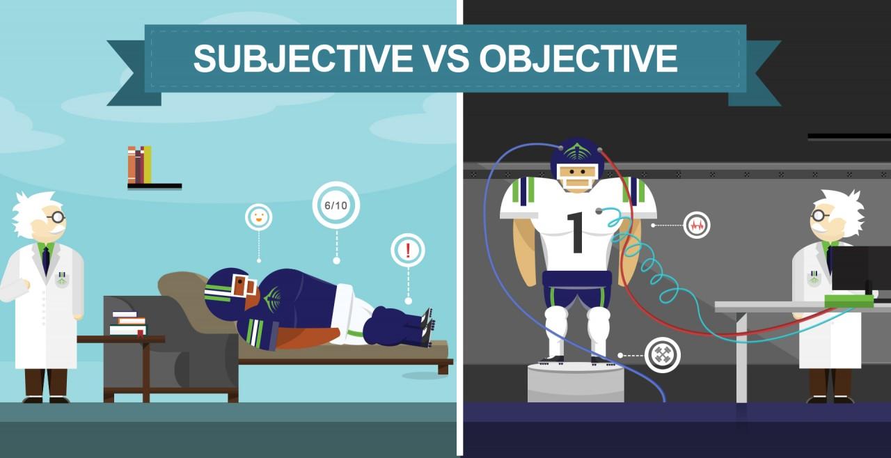 objective vs subjective data