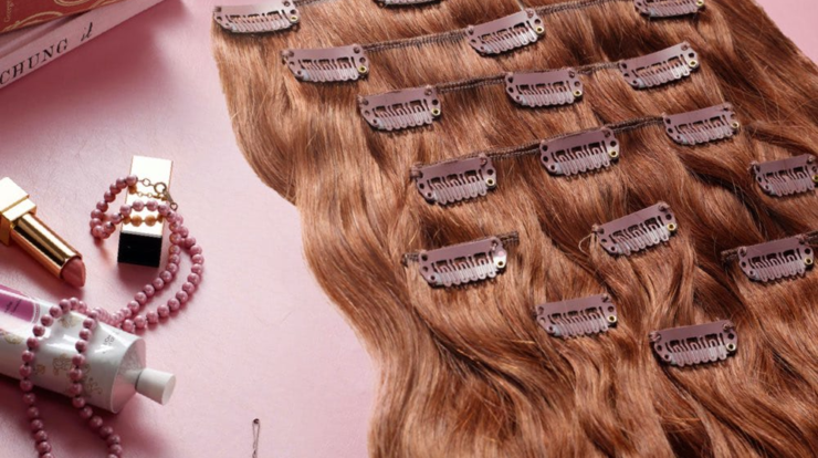 How To Make Clip In Hair Extensions Without Sewing