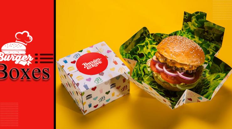 branded burger boxes